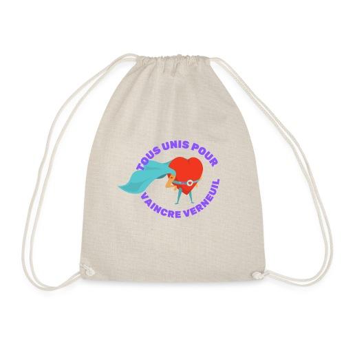 Tous Unis pour Vaincre verneuil violet - Sac de sport léger