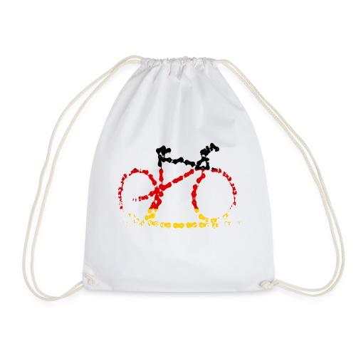 Germany bike chain scale - Drawstring Bag
