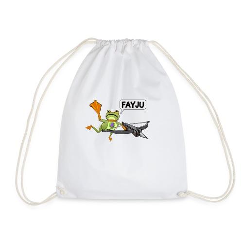 Amazing Frog Crossbow - Drawstring Bag