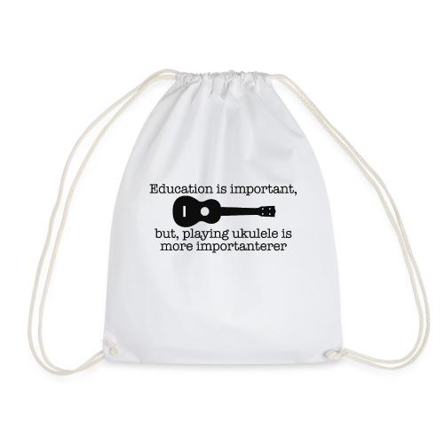Important Ukulele - Drawstring Bag