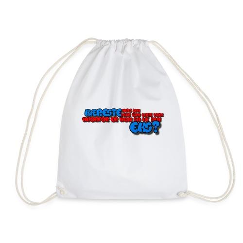 Ekskæreste to-farvede krus - Sportstaske