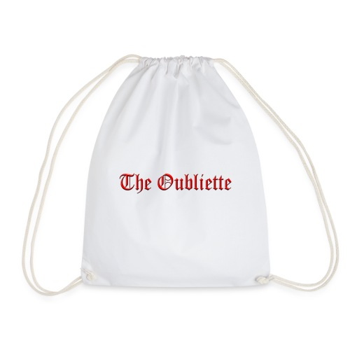The Oubliette Apron - Drawstring Bag