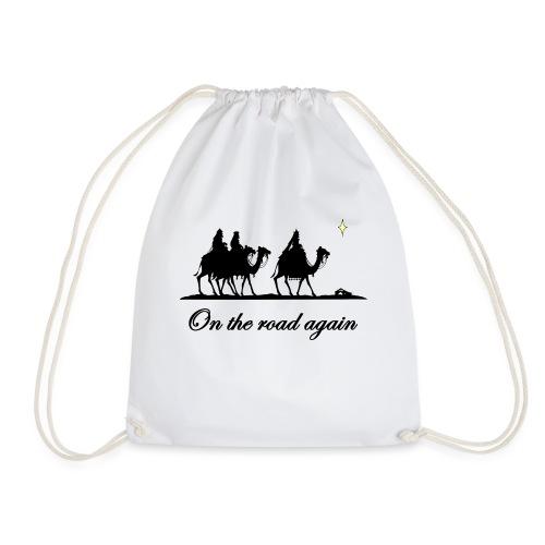 Xmas Edition on the Road again - Drawstring Bag