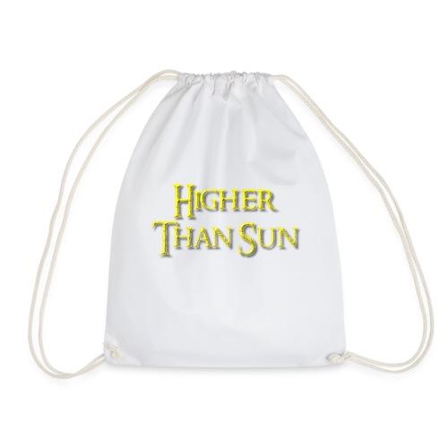Higher Than Sun - Drawstring Bag