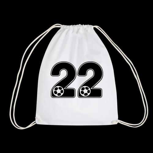 foot numero 22 - Drawstring Bag