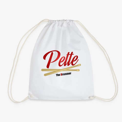 Pette the Drummer - Drawstring Bag