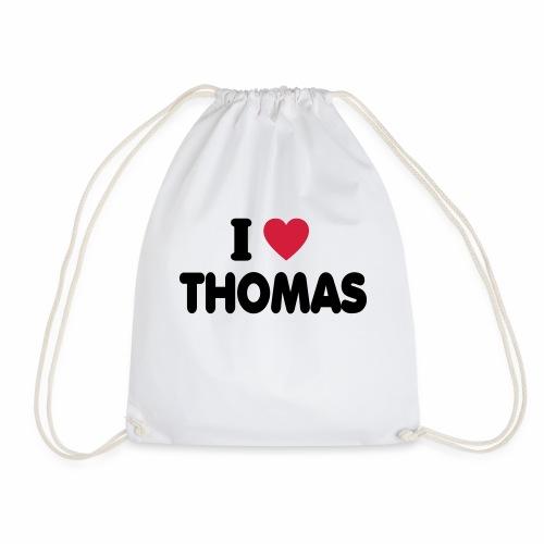 I love Thomas - Turnbeutel