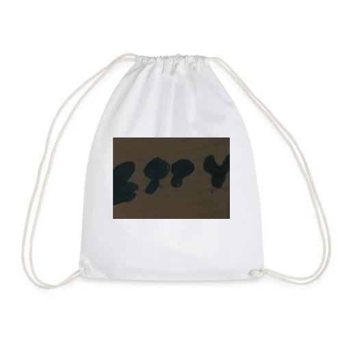 Etty Blue writing merch - Drawstring Bag