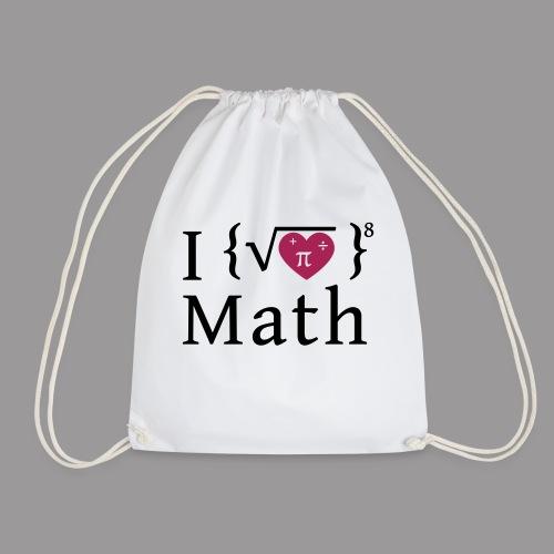 I love math - Turnbeutel