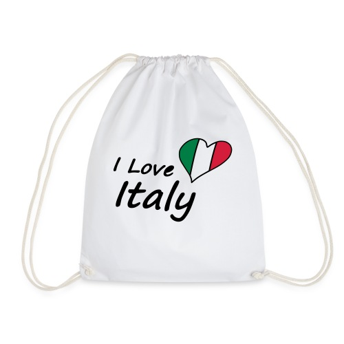 I Love Italy - Turnbeutel
