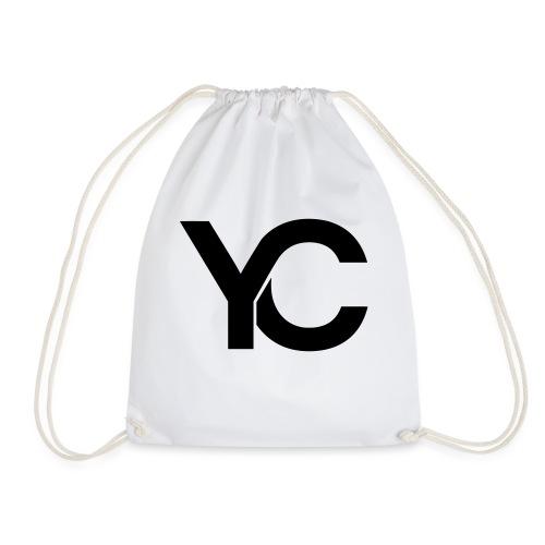 YC Black Logo - Drawstring Bag