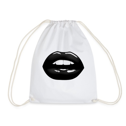 Lips - Drawstring Bag