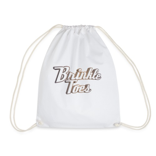 Brinkletoes Text - Drawstring Bag