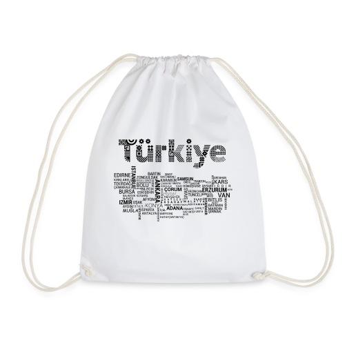 TürkiyeHaritasi Siyah - Turnbeutel