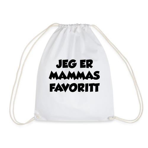 «Jeg er mammas favoritt» (fra Det norske plagg) - Gymbag