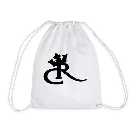cr logo black - Drawstring Bag