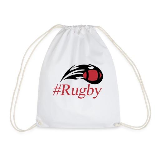 T-shirt Hashtag rugby - Sac de sport léger