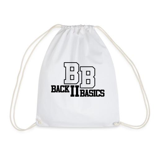 Logo Back To Basics 1 couleur vectorise - Sac de sport léger