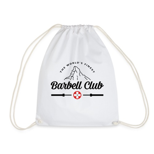 The world's finest Barbell Club _black - Turnbeutel