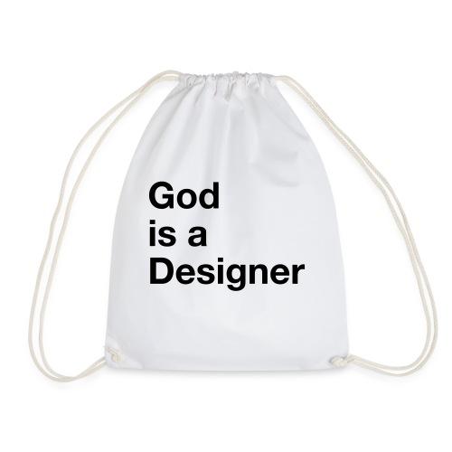 God Is A Designer - Turnbeutel