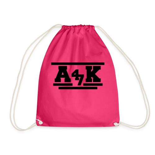- A _K - - Drawstring Bag