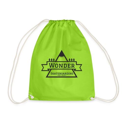 Wonder hoodie no hat - Mountain logo - Sportstaske
