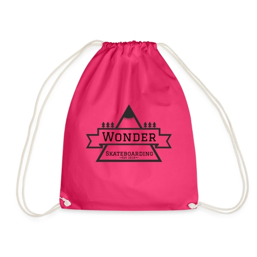 Wonder hoodie no hat - Mountain logo - Sportstaske