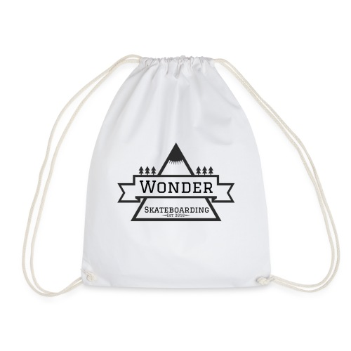 Wonder T-shirt: mountain logo - Sportstaske