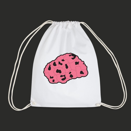 Use Your Head (Colour) Mens T-shirt - Drawstring Bag