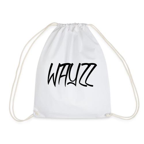 Wayzz White Tee - Drawstring Bag