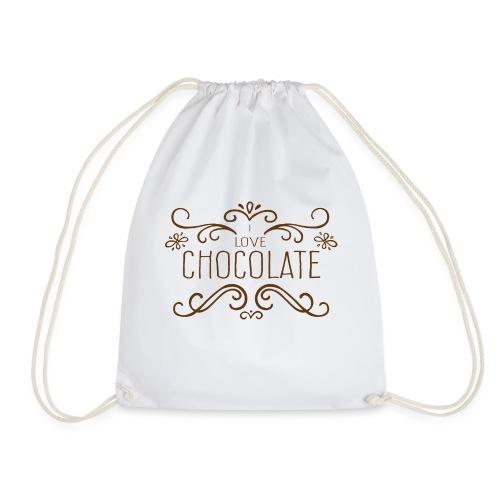 I Love Chocolate - Sac de sport léger