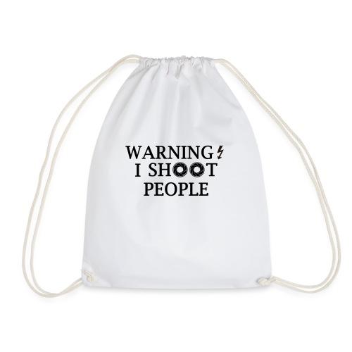 WARNING! - Drawstring Bag