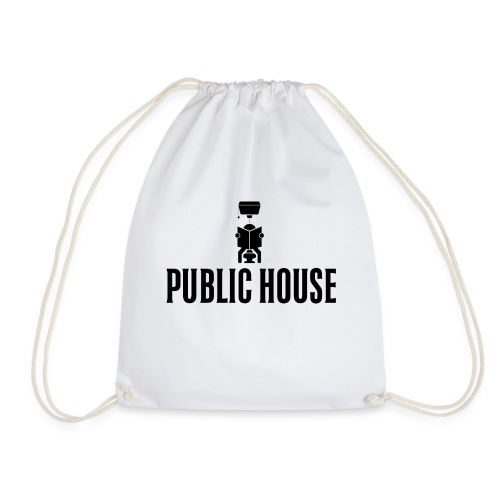 Official Women Shit by Public House - Drawstring Bag