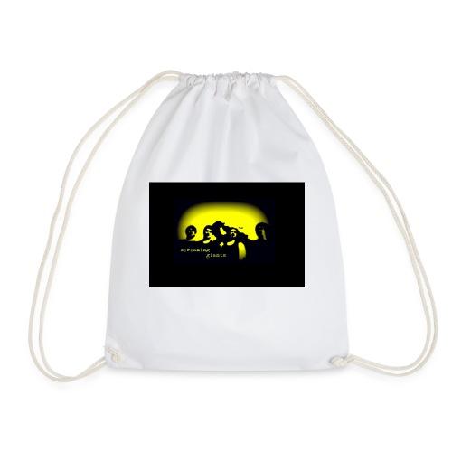 logoBlackBackground - Drawstring Bag