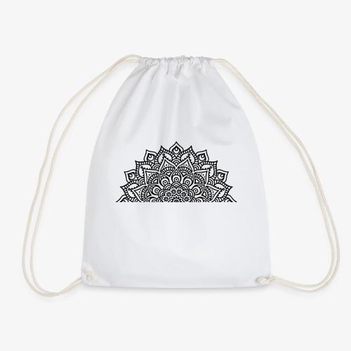 mandala2 - Drawstring Bag