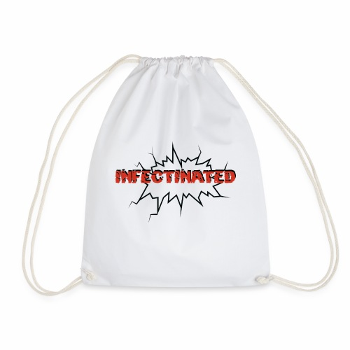 Infectinated - Drawstring Bag