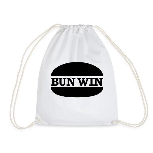 bunwinblack - Drawstring Bag