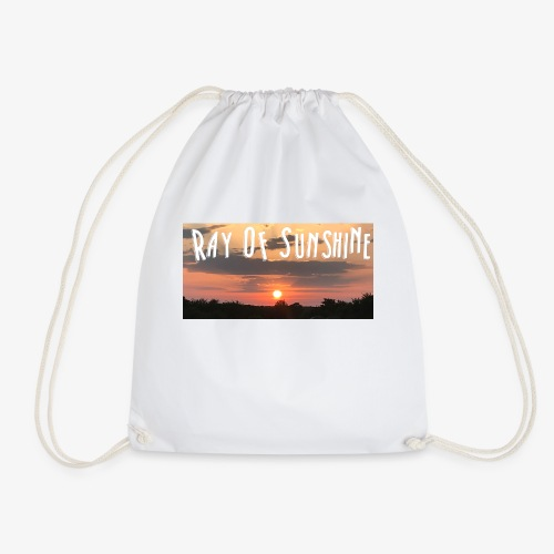 Ray of sunshine - Drawstring Bag