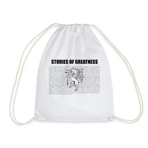 Stories of Greatness - Drawstring Bag
