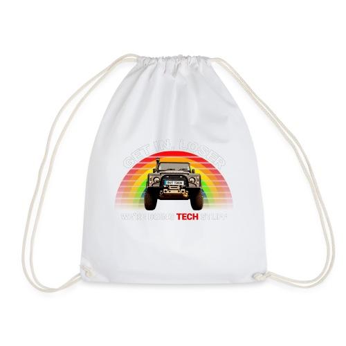 We're Doing Tech Stuff - Drawstring Bag