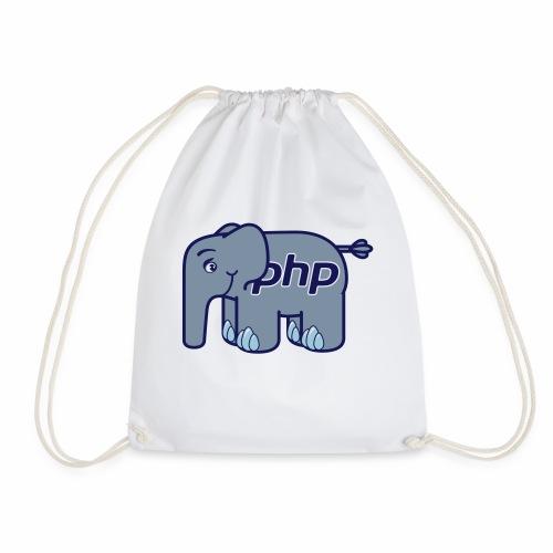 Der PHP Elefant - elePHPant - Turnbeutel