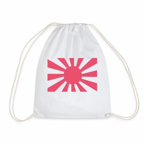 Japanese flag - Drawstring Bag
