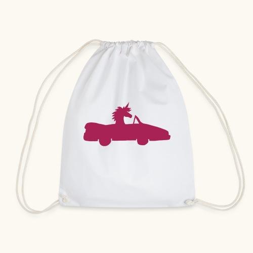 Cadeau de permis de conduire drôle de voiture de la Licorne convertible - Sac de sport léger