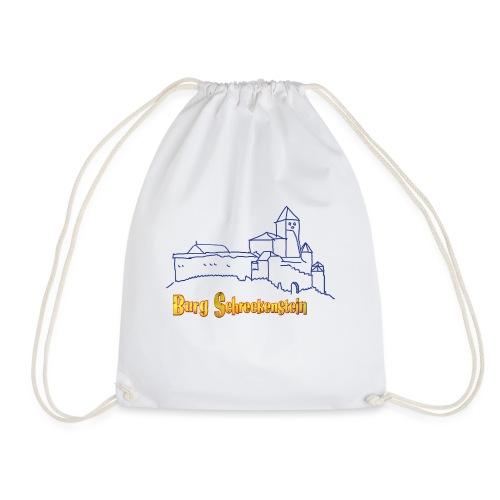 Kinder Kapuzenpullover - Burg Schreckenstein - Turnbeutel