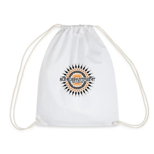 SDR Small Black - Drawstring Bag