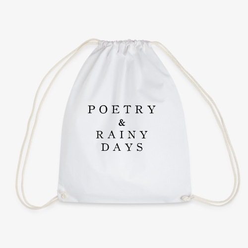 Poetry Rainy Books - Turnbeutel