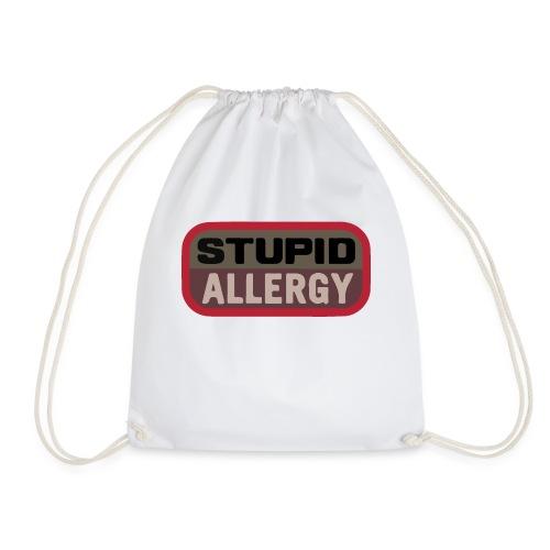 Stupid allergy - Airsoft Meme - Mochila saco
