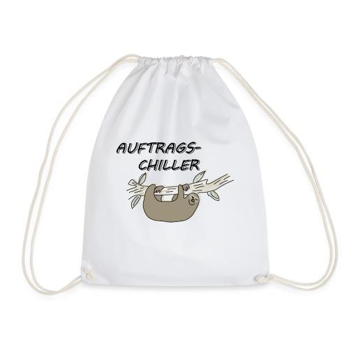 Faultier Auftragschiller - Turnbeutel