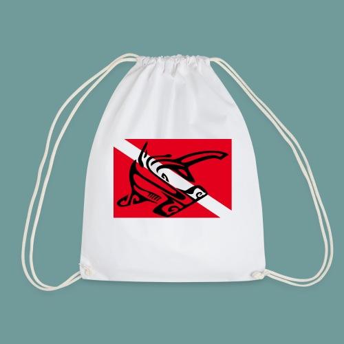 flag_ham_shark - Sac de sport léger