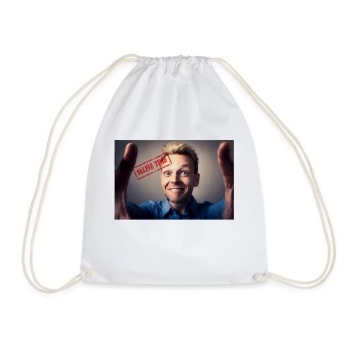 Selfy time - Drawstring Bag